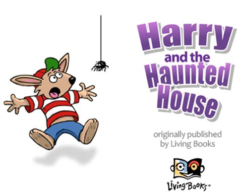 harry and the haunted house harry and the haunted house wanderful interactive storybook in english and spanish