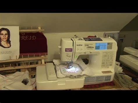Mesin Jahit Quattro 6000d embroidery innov is 2800d demo 1 funnycat tv