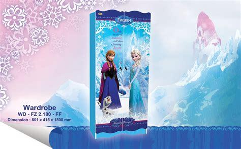 Lemari Pakaian Anak Frozen jual wardrobe lemari pakaian anak karakter frozen wd fz 2180 ff harga murah kota tangerang oleh