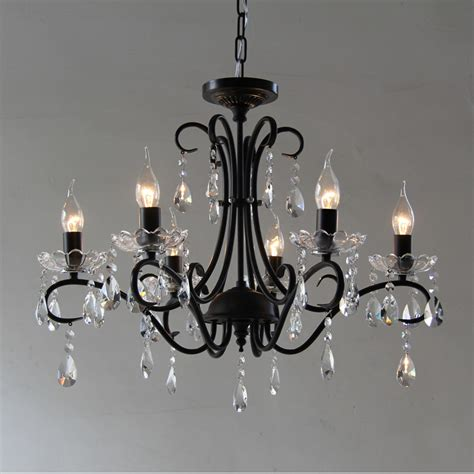 Cheap Candle Chandeliers Popular Black Iron Candle Chandelier Buy Cheap Black Iron Candle Chandelier Lots From China