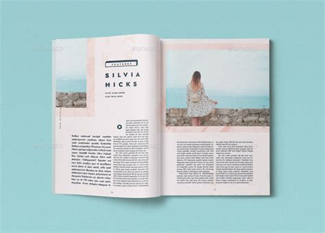 template magazine 44 pages chillaid magazine template by danibernd