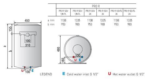 Pemanas Air Gas Ariston Sga 150 Kapasitas 150l pro r 120 150 pemanas air listrik sistim gantung ariston indonesia