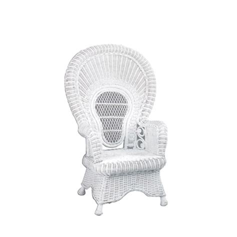 Baby Shower Wicker Chair by Chairs
