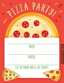 pizza template free pizza invitations theruntime