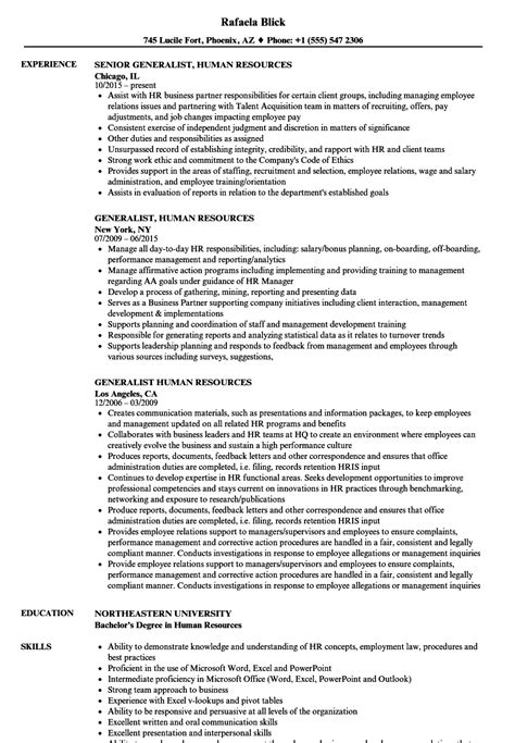 Resume Bullet Points For Human Resources wonderful resume bullet points for human resources ideas