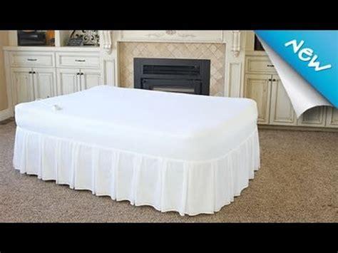 blow up headboard fox air beds signature memory foam air mattress with