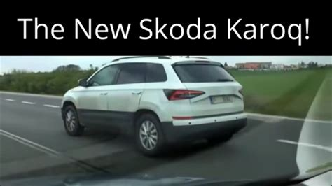skoda yeti 2018 2018 skoda yeti replacement karoq spied in the czech