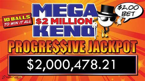 Jackpot Games Win Money - g tag 174 keno game offers players chance to win 2 million cash jackpot four corners