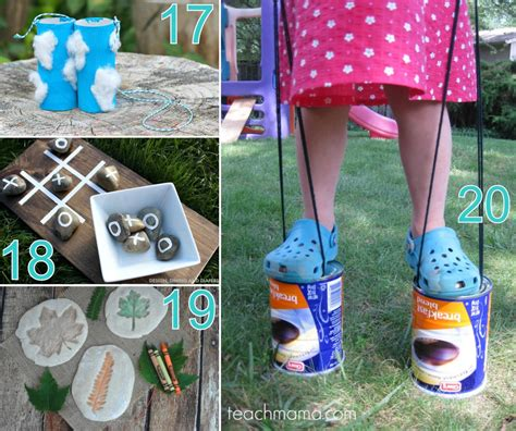 ideas for 20 outdoor craft ideas for the scrap shoppe