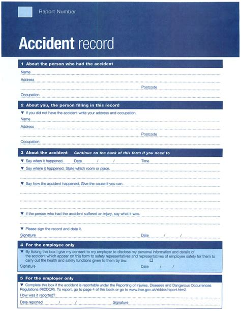 Incident Report Log Template bee paul a kenny training