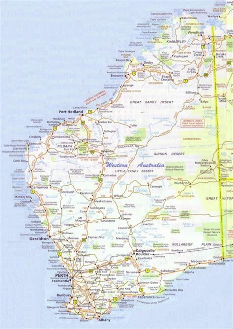wa map map of wa slowcatchup