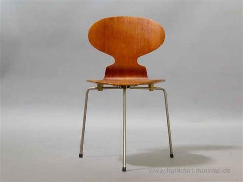 Arne Jacobsen Ameise Stuhl by Sold Arne Jacobsen Fritz Hansen 3100 Teak 1966 Ameise