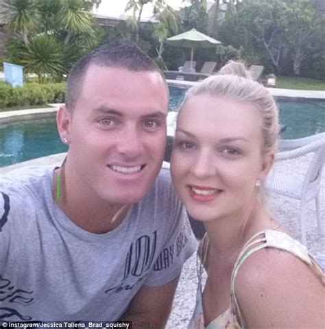 Brad Took Secret Vows by Seven Year Switch S Tallena And Brad Get Candid After