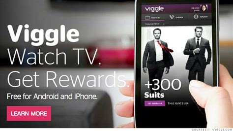 viggle for android top 5 android app for live tv show and