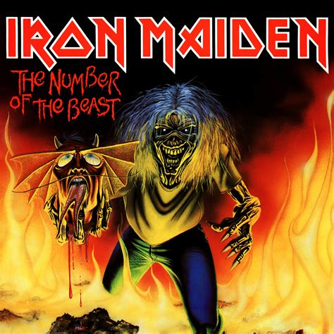Vinyl Iron Maiden The Number Of The Beast the number of the beast song by iron maiden horrorpedia