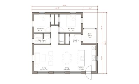 house plans 1100 sq ft 1100 sq ft house plans modern style house plan 2 beds 1 00 baths 1100 sq ft