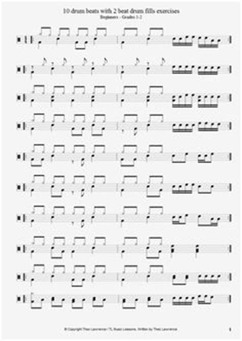 samba drum pattern midi vater beat poster a collection of drum patterns in