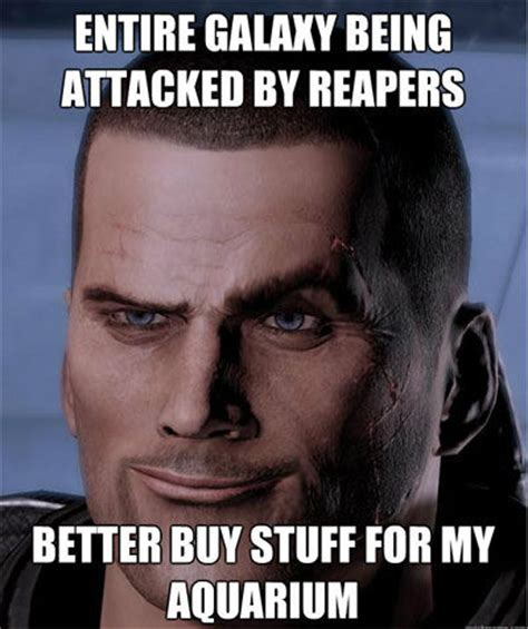 Mass Effect Memes - mass effect logic video game logic know your meme