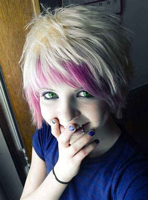emo hairstyles for short hair ibuzzle cute short emo haircuts short hairstyles 2017 2018