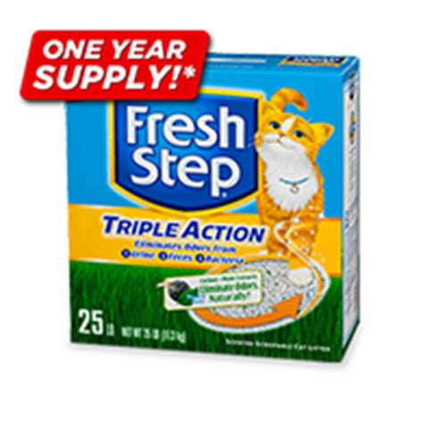 Fresh Step Sweepstakes - cat sweepstakes fresh step 174