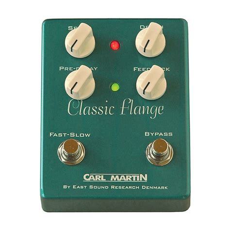 Carl Martin Chorus Effects Pedal carl martin classic flange version ii guitar effects pedal