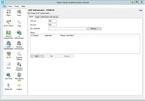 ldaps port ldap authentication and azure mfa server microsoft docs