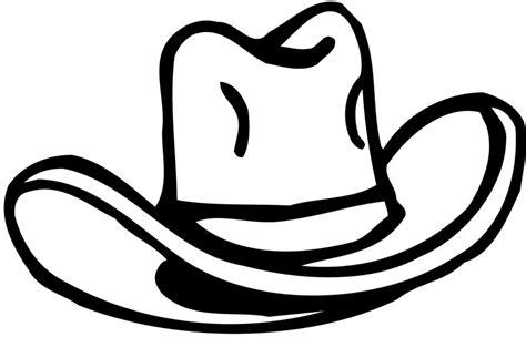 Cowboy Hat Clipart Clipartion Com Western Hat Coloring Page