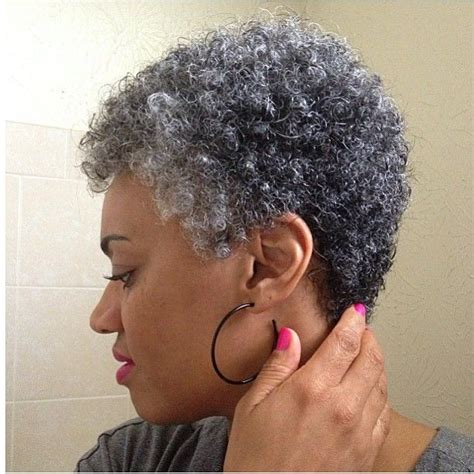 Short Afro Gray Styles | 1000 images about going gray on pinterest protective