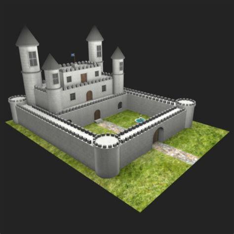 Design Your Own House Game fantasy castle 3d model obj mb fbx