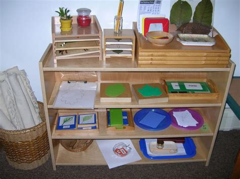 montessori bookshelves 1000 images about montessori shelves science on