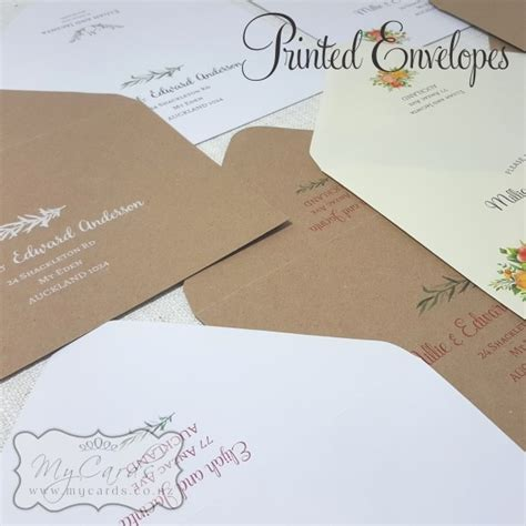 wedding invitations guest names printed printed wedding envelopes guest names and addresses