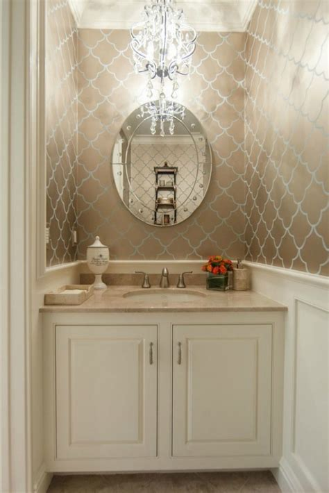 wallpaper ideas for small bathroom beautiful powder rooms connecticut in style