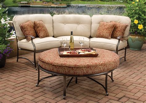 Curved Patio Sofa Agio Emigh S Outdoor Living