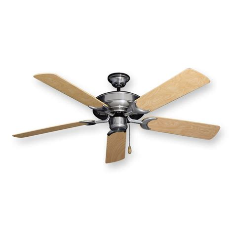 6 blade ceiling fan raindance outdoor ceiling fan in brushed nickel w 52