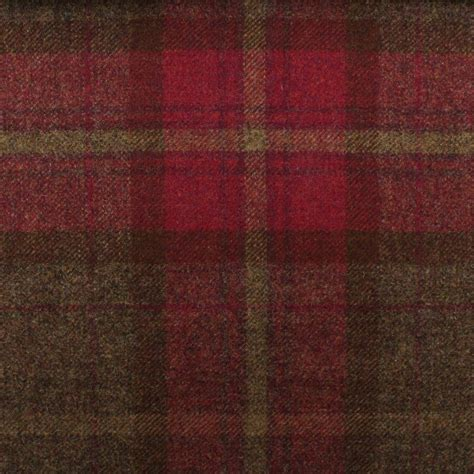 tartan plaid upholstery fabric 100 pure scotish upholstery wool woven tartan check plaid