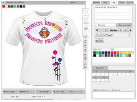application design t shirt free online custom t shirt design software scripts and