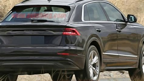 Audi Q8 Black by Wow Amazing Audi Q8 2018 Black