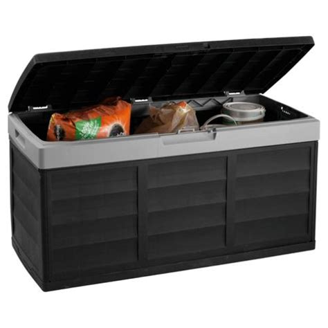 Garage Storage Boxes Buy Keter Pack N Go Garage Storage Box Black Grey From Our
