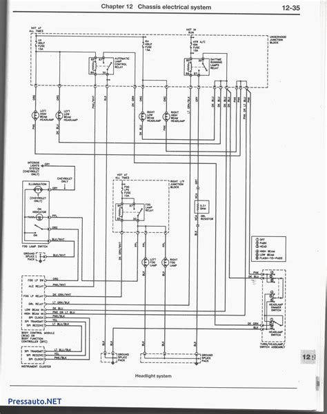 97 grand prix headlight wiring diagram 97 get free image