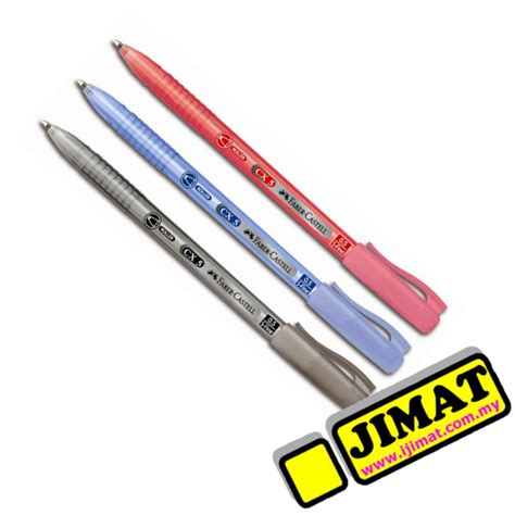 Bolpen Fabercastell 1 0 Cx Colour faber castell cx5 pen 0 5mm