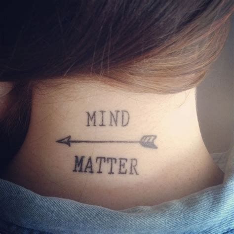 mind over matter tattoo mind matter search tattoos i