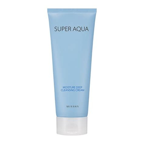Moist Cussion By Ms Glow Original aqua moisture cleansing the official missha