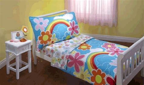 homeofficedecoration rainbow bedding  kids