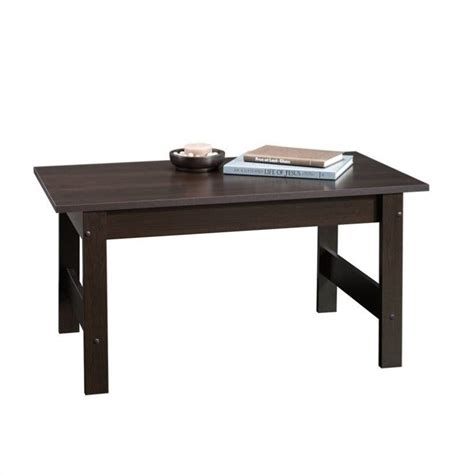 Sauder Coffee Table with Sauder Beginnings Coffee Table In Cinnamon Cherry Finish 414291