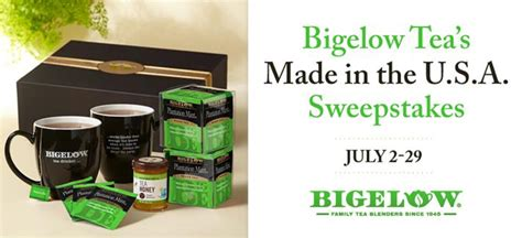 Sweepstakes And Contests 2014 - sweepstakes and contests bigelow tea blog