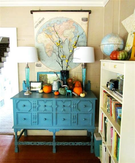 5 ways to get this look a fall sideboard vignette infarrantly creative