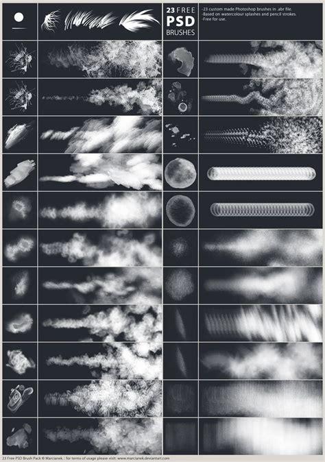 adobe photoshop shapes tutorial 23 free psd brushes by marcianek photoshop pinterest