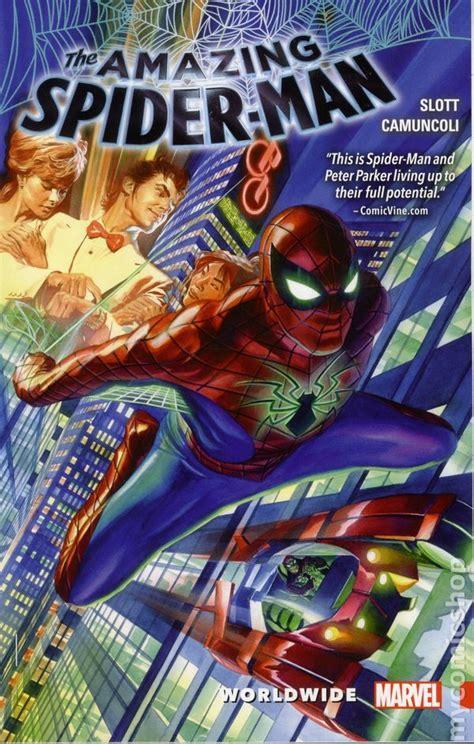 the amazing spider marvel spider golden book amazing spider worldwide tpb 2016 marvel comic books
