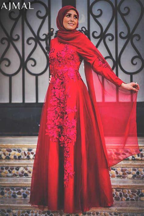 beautiful hijab evening dresses  trendy girls