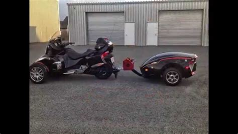 2013 can am spyder rt limited rt 622 trailer